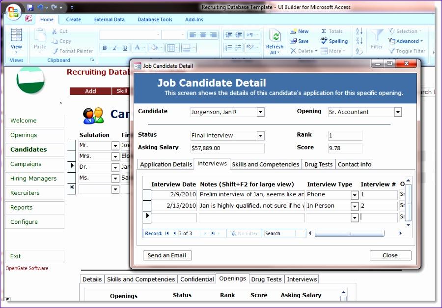 microsoft access database templates free 900626