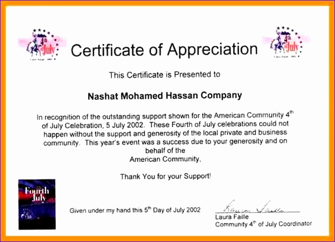 certificate of appreciation wording for employees 658475