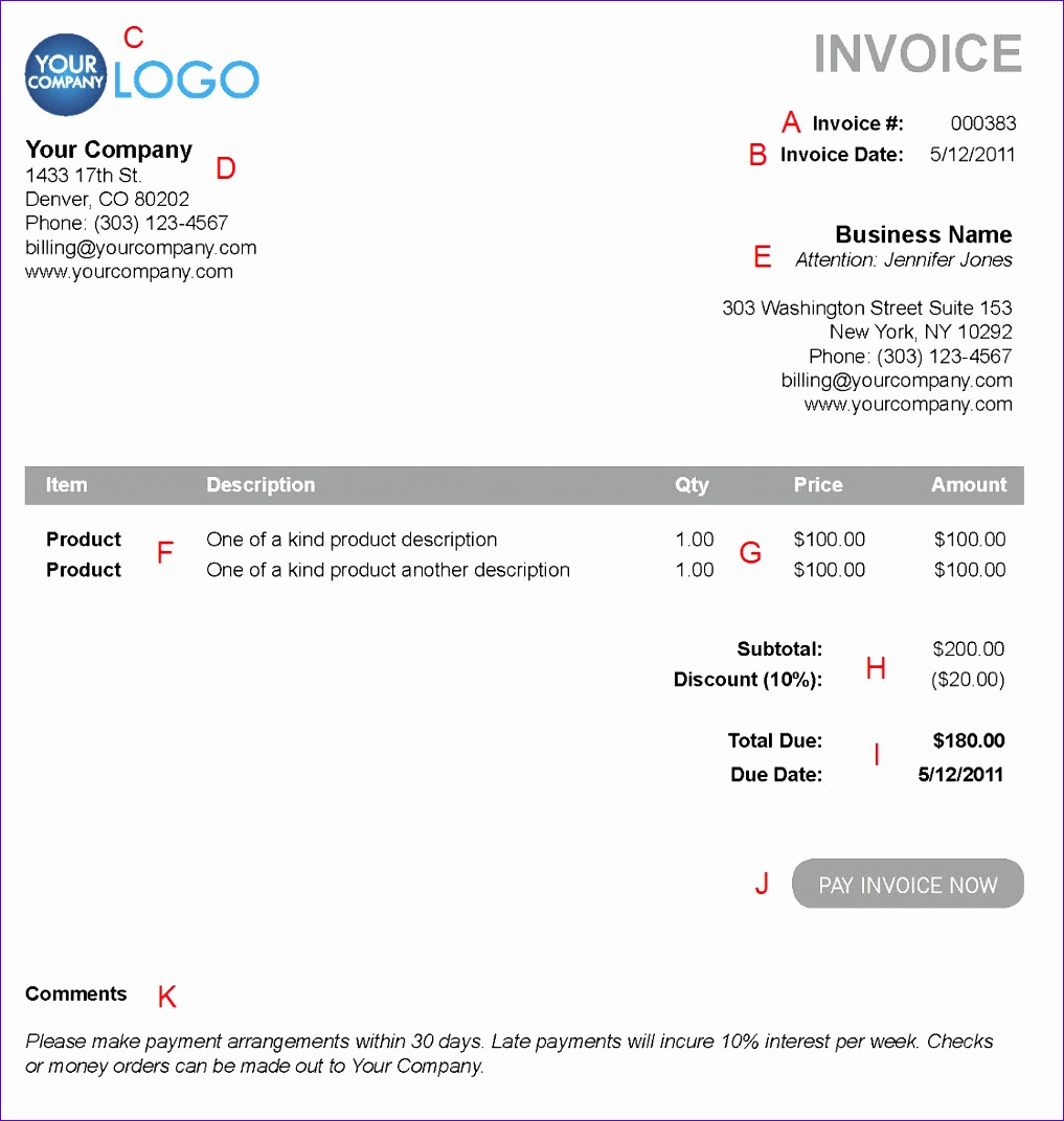 electronic invoice template 3147 10171072