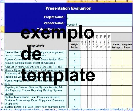 Formulario de avaliacao de produtos de fornecedores 546454