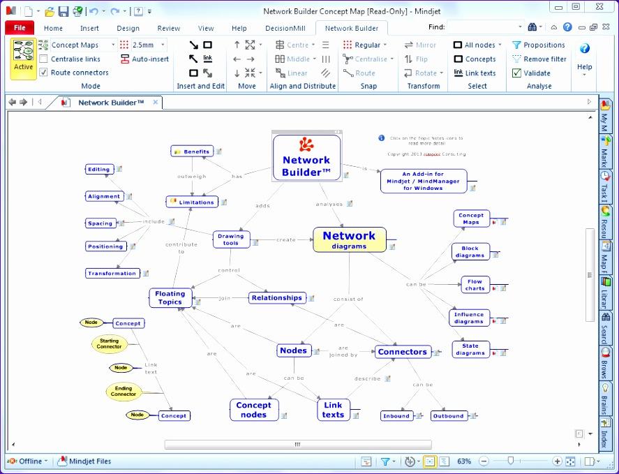 network builder for mindjet mindmanager 887679
