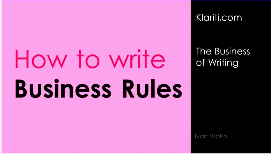 business rules