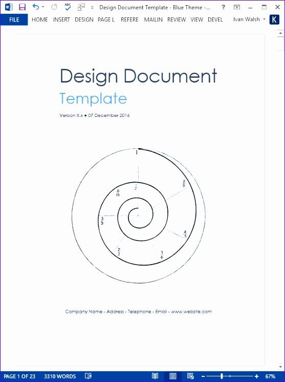 design document template 557745