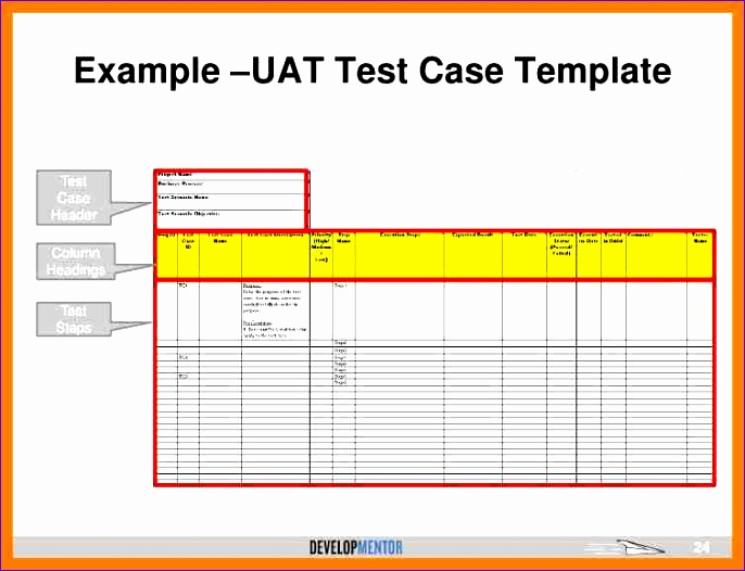 Testing Plan Template Excel  Exceltemplates  Exceltemplates