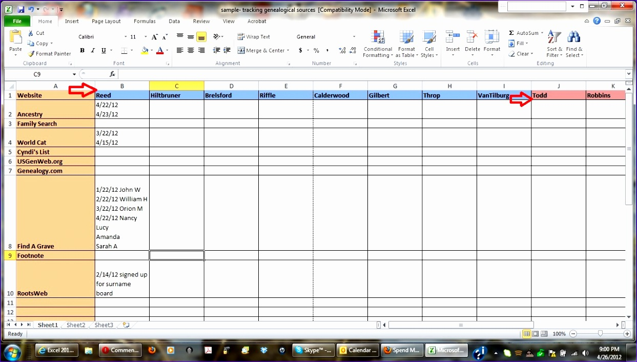 Excel Time Study Template