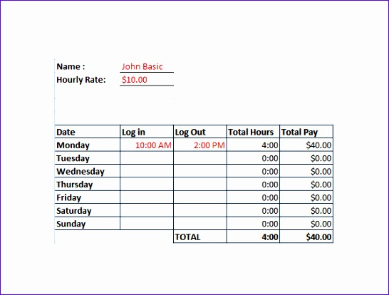 Time Card Template For Excel OXlp Awesome Time Sheet Calculator