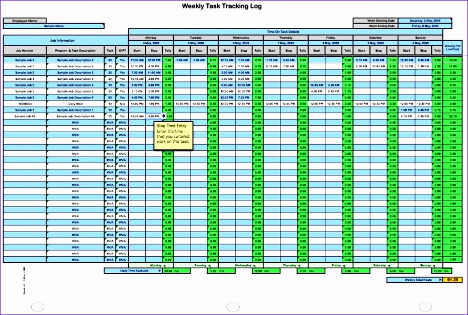 time tracking spreadsheet template excel 931627