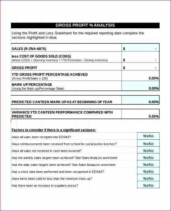 sales analysis template 546671