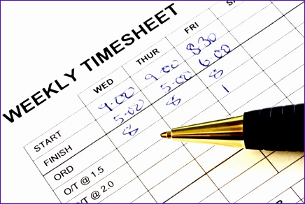 weekly timesheet template 436292