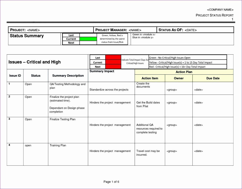 project management action plan template 15011173
