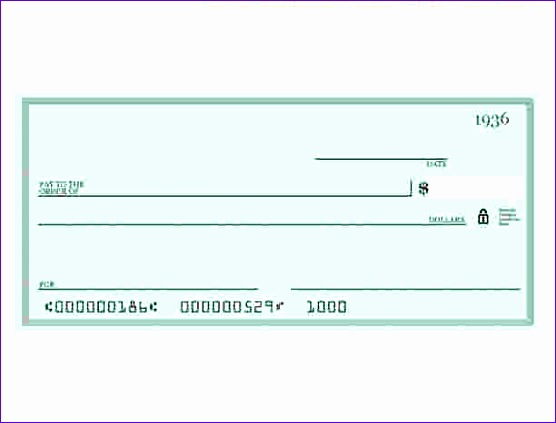 6 fake check template 556423