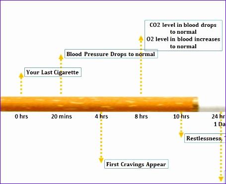 nicotine withdrawal timeline 455371