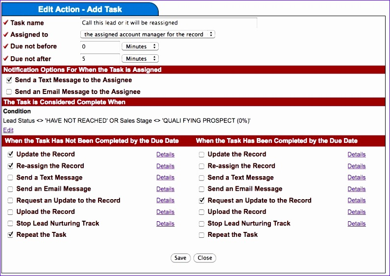 task management reminders support email templates 796564