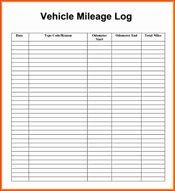 mileage tracker form mielage log image 2 2
