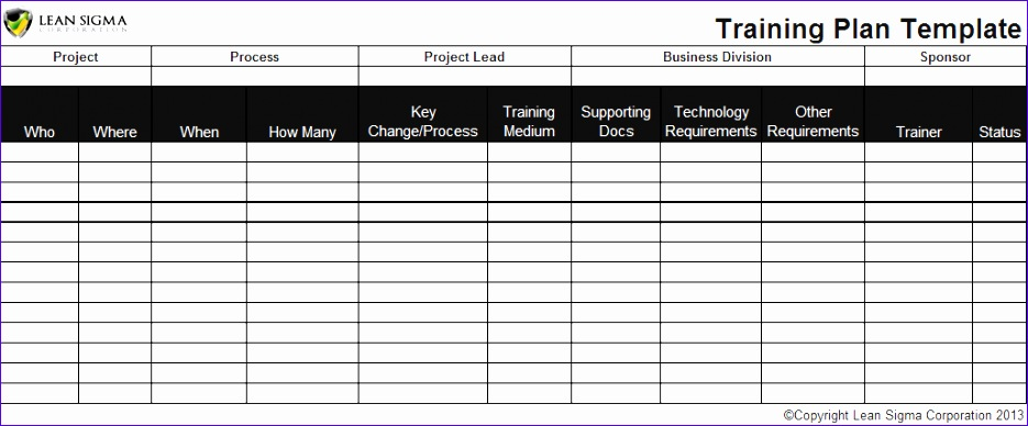 training plan template 935388