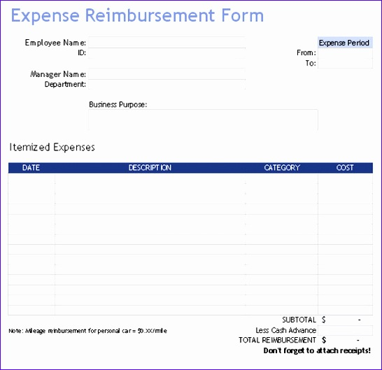 expense tracker templates 546529