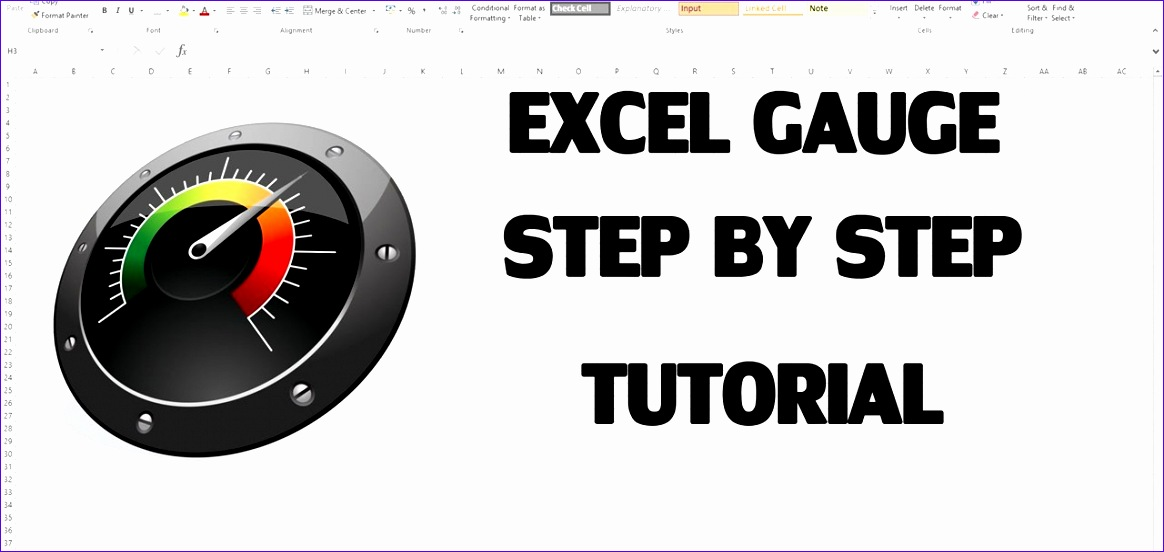 create excel kpi dashboard with gauge control 1164552