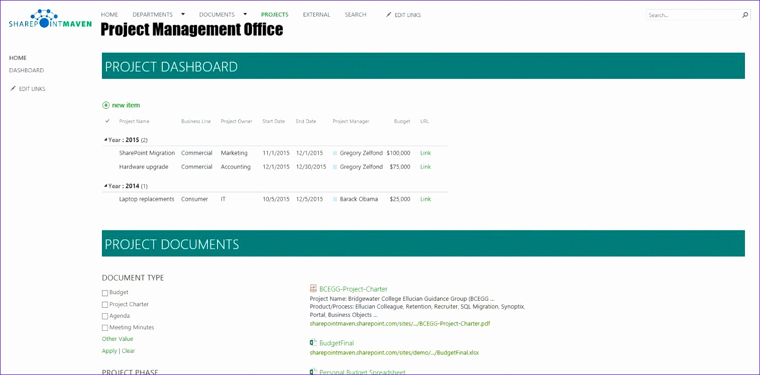 sharepoint intranet examples 1513747