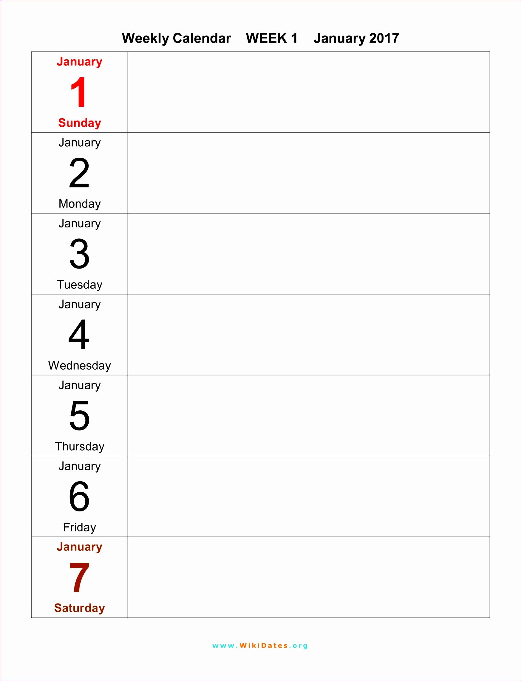 weekly calendar 2017 55 17472285