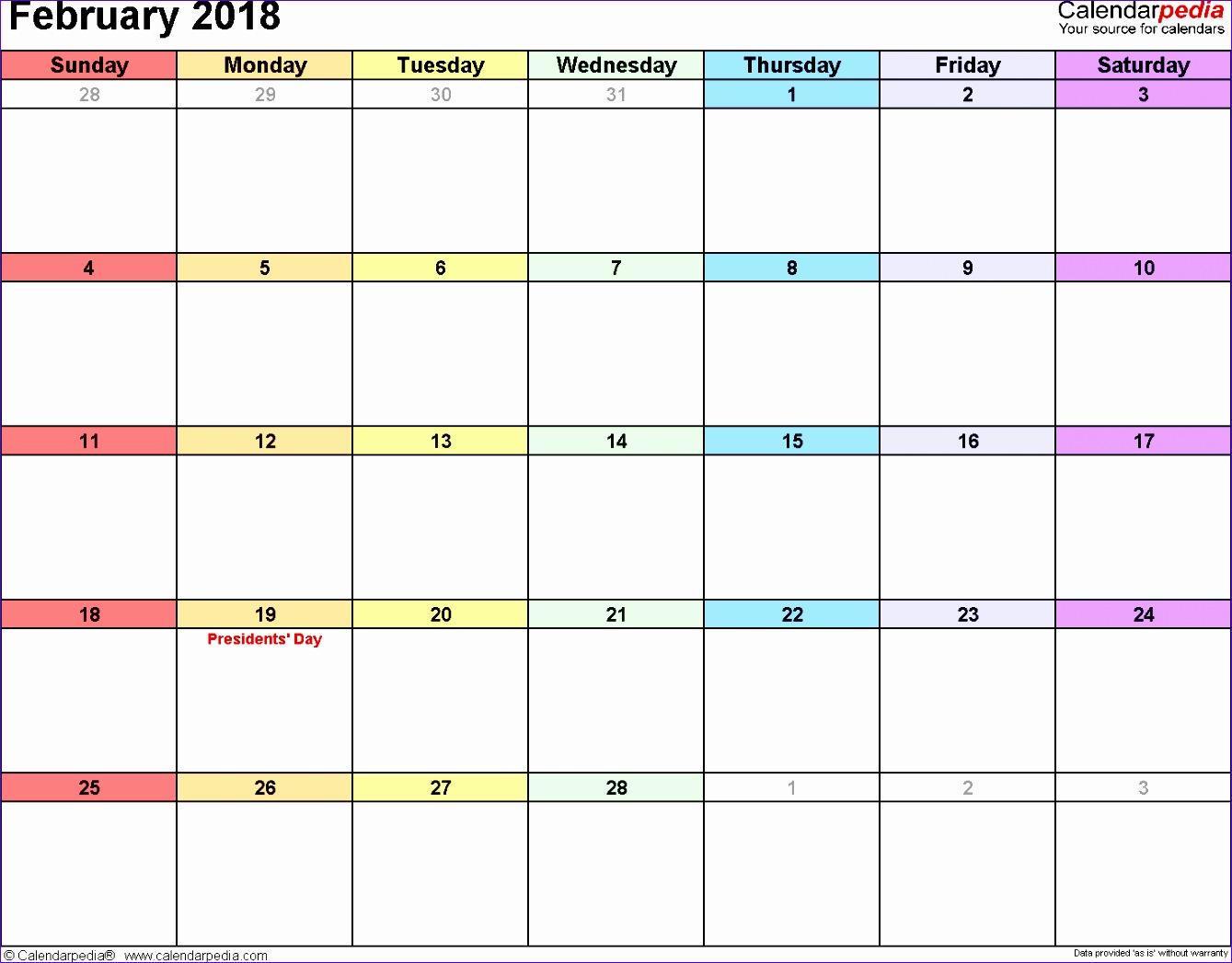 february 2018 printable calendar 2417 13391047