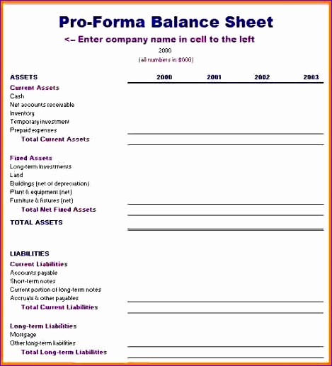 Pro Forma Balance Sheet Template Excel: 7 Wedding Checklist Template Excel