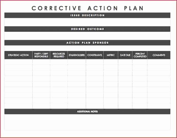 11 action plan template excel 722564