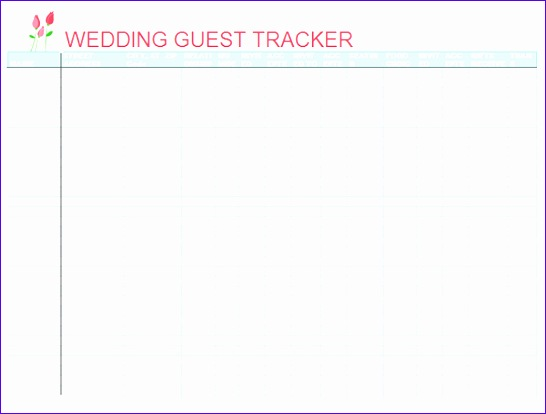 10 Wedding Guest List Excel Template Exceltemplates Exceltemplates