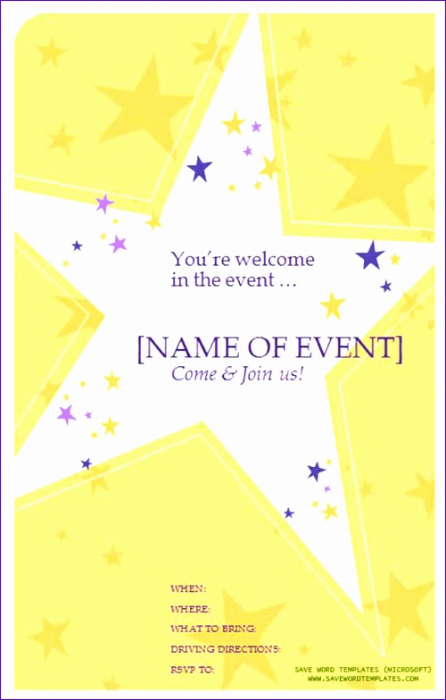 wedding party flyer 500784
