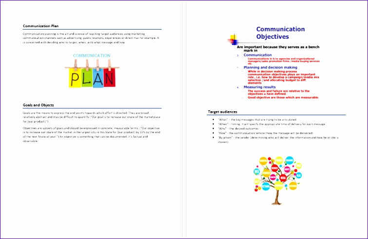 4 microsoft business plan template
