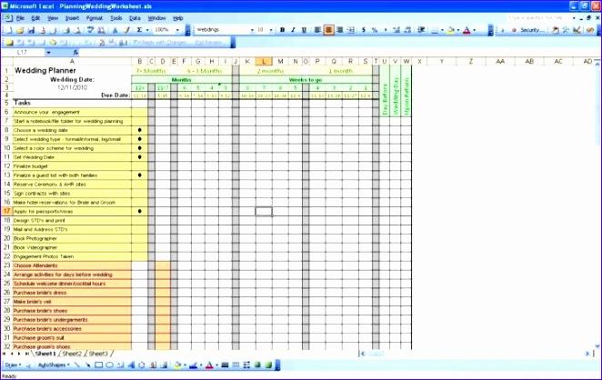 wedding guest list spreadsheet template 662418