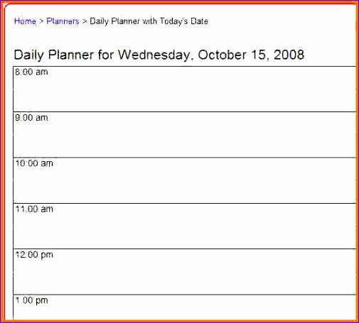 3 daily calendar printable 505455