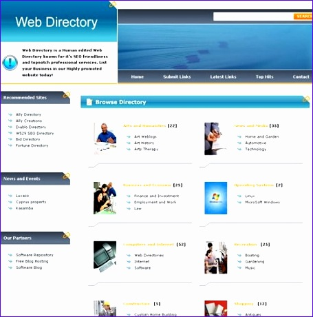 photo directory template 455460