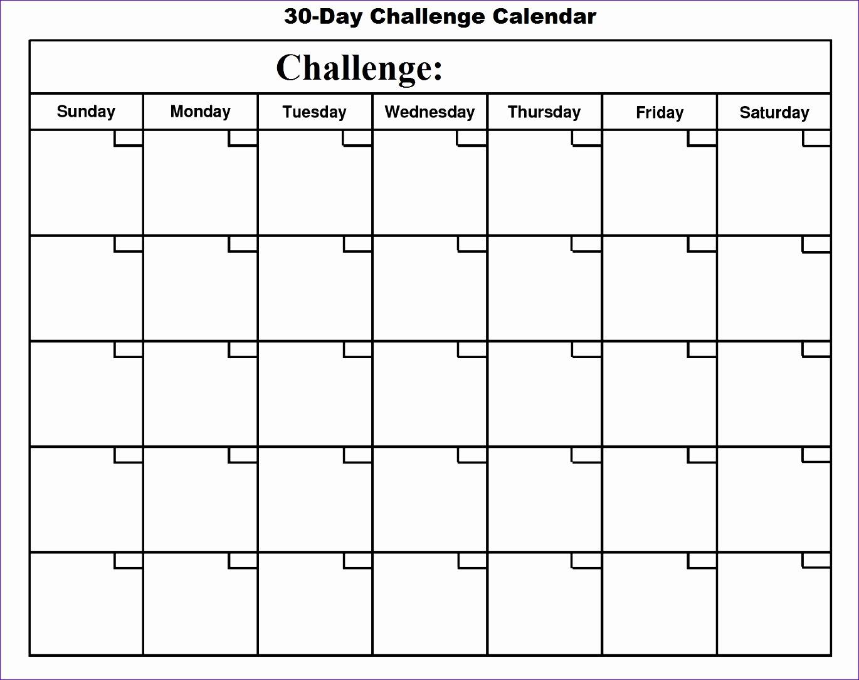 30 day calendar template 2465 13701084