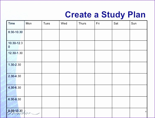 8 Weekly Timetable Template Excel - ExcelTemplates - ExcelTemplates