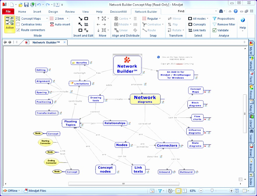 network builder for mindjet mindmanager 887679