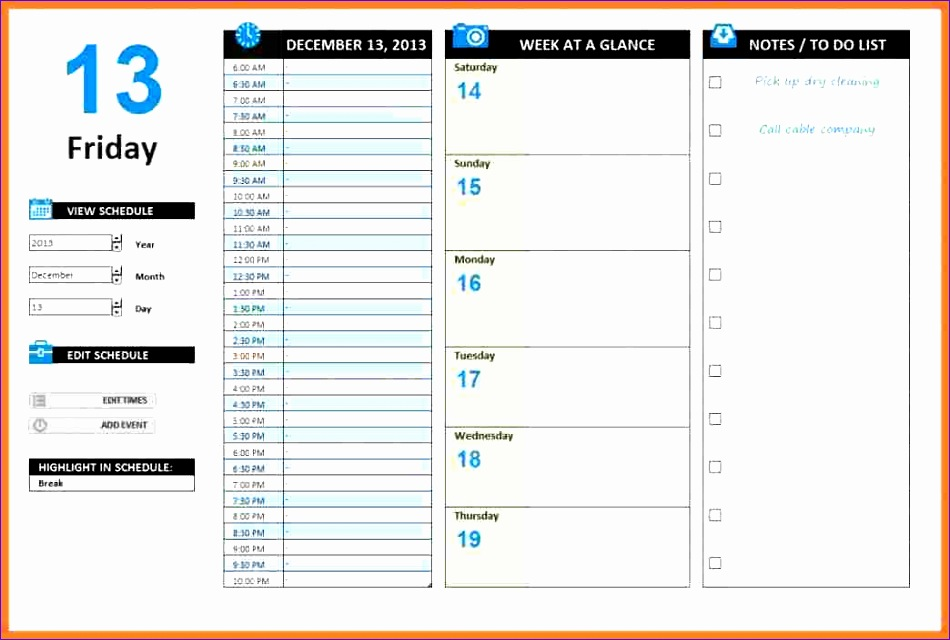 7 excel template for work plan 950640