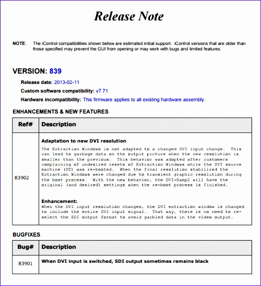 release notes template 527579