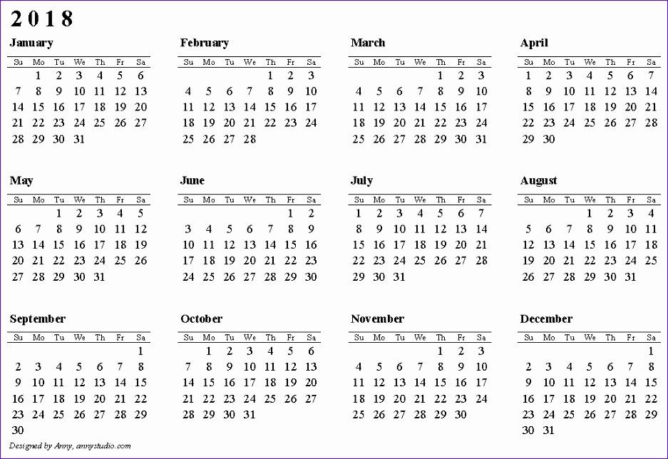 blank calendar 2018 937644
