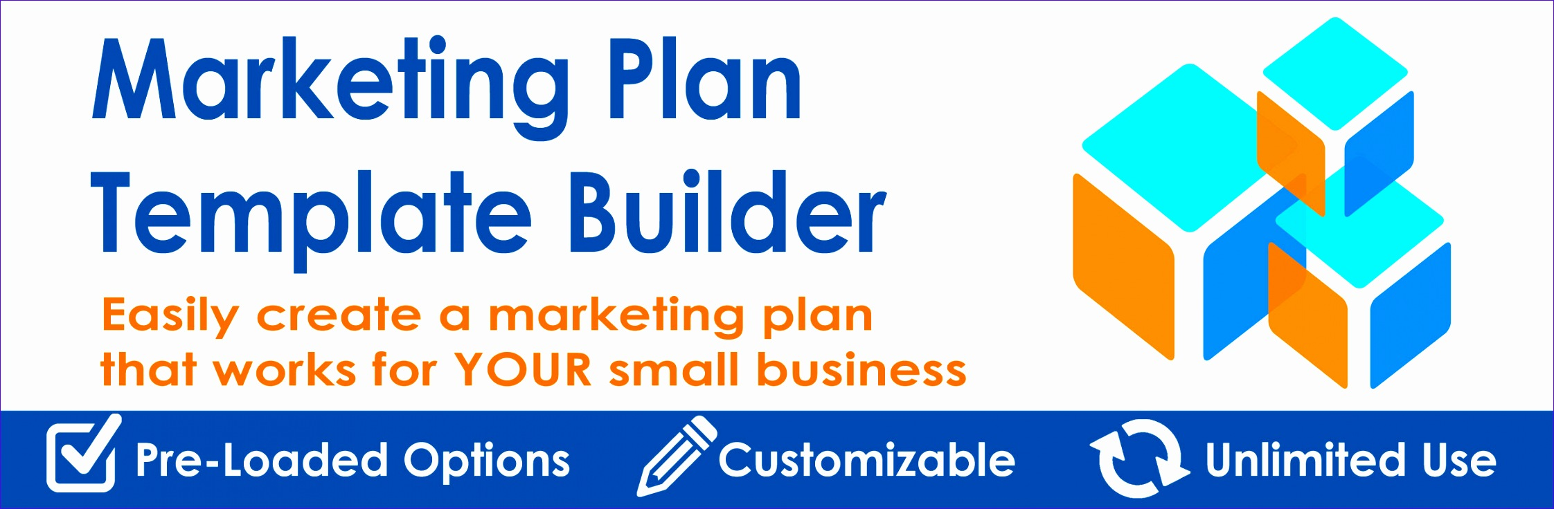 marketing plan template builder tactics bud plans