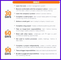 Example 30 60 90 Plan Template Excel Ezskk Awesome First 90 Day Plan Template 236231