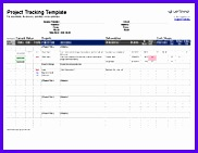If you are a contractor or freelancer you can use this Project Tracking Template to record all of the individual tasks and deliverables that have been 182141