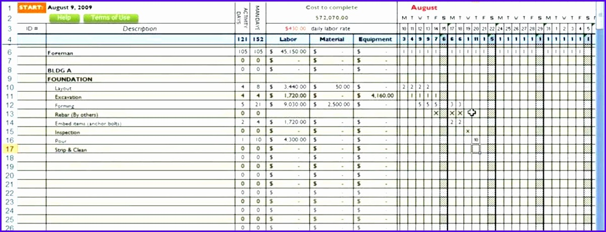 construction bud spreadsheet mercial construction bud template free estimate template excel free construction schedule spreadsheet home 1201460