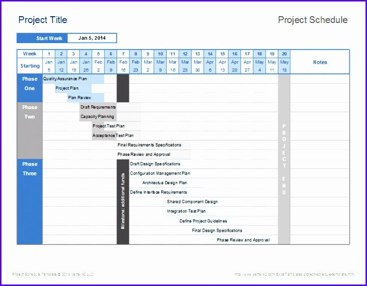 Schedule Template throughout Timeline Template Excel 749584