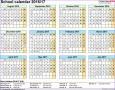 5  Excel 2007 Calendar Template