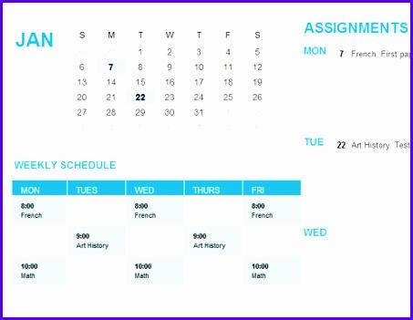 Student calendar Sun 453351