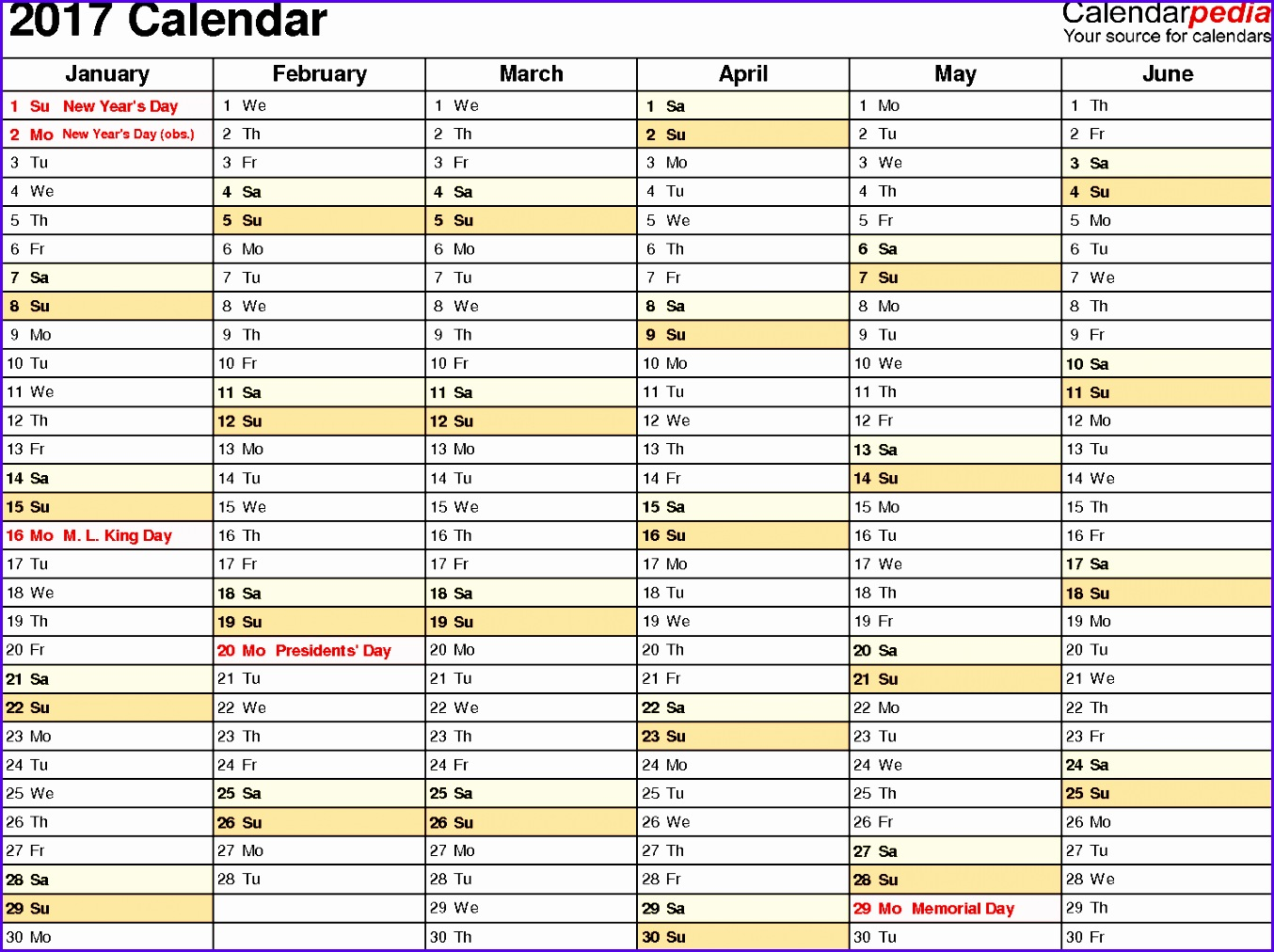Example Excel Calendar Templates Free Akoel New 2017 Calendar Download 17 Free Printable Excel Templates Xlsx 14881100