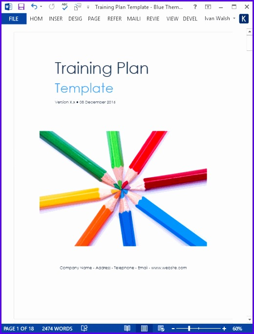 Download Your Training Plan Template 520682