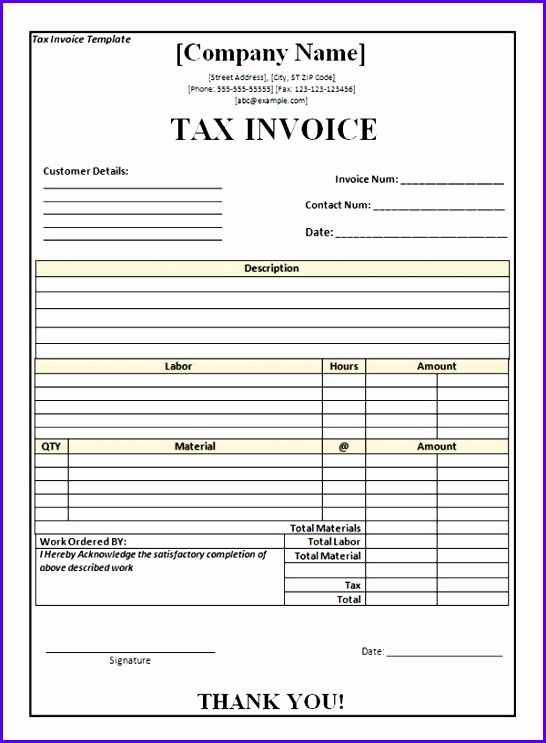 Example Excel Invoice Template Uktb4 New Vat Invoice Template 600808