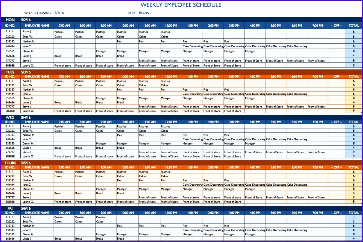 Example Excel Template Schedule Planner Quqfs Best Of Free Weekly Schedule Templates for Excel Smartsheet 1374906