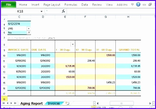 accounting excel template account management excel template track accounts receivable with invoice aging report template for 527368